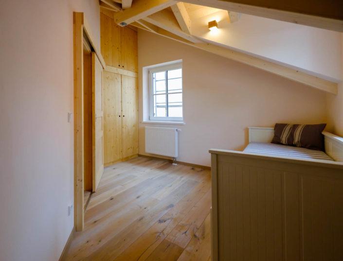 Ferienhaus / Ferienwohnung Schlafzimmer 3 mit Doppelbett im ersten Stock