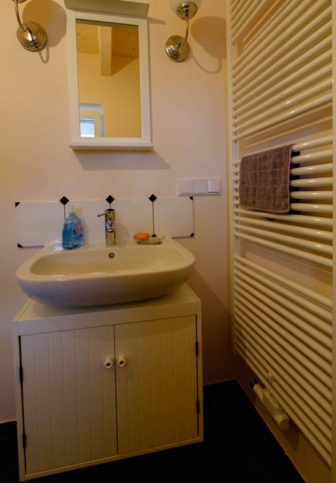 Ferienhaus / Ferienwohnung Ein Bad mit Dusche und WC im Erdgeschoss